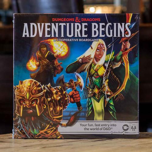 Dungeons & Dragons Adventure Begins