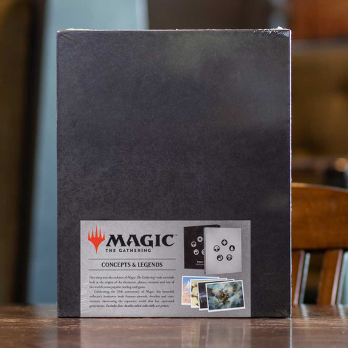 The Art of Magic: The Gathering: Concepts & Legends 25 Years by James Wyatt