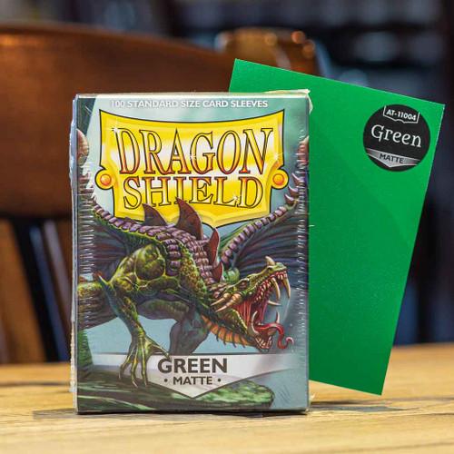 Dragon Shield Matte Green