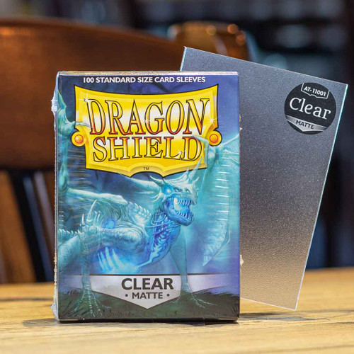 Dragon Shield Matte Clear