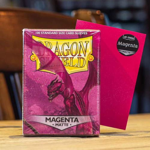 Dragon Shield Matte Magenta