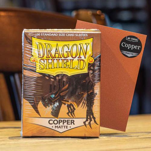 Dragon Shield Matte Copper