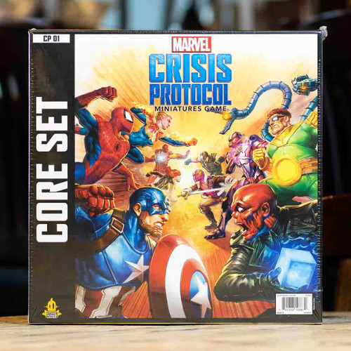 Mox Boarding House | Box front for Marvel: Crisis Protocol