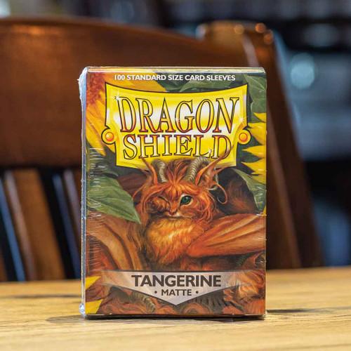 Dragon Shield Matte Tangerine