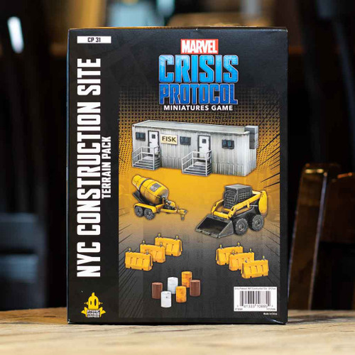 Marvel: Crisis Protocol - NYC Construction Site Terrain Pack