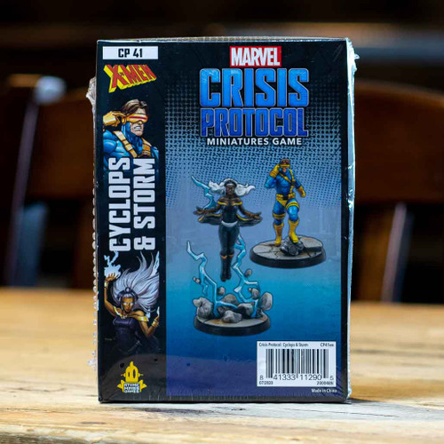 Marvel: Crisis Protocol - Cyclops & Storm