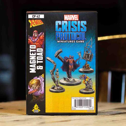 Marvel: Crisis Protocol - Magneto & Toad