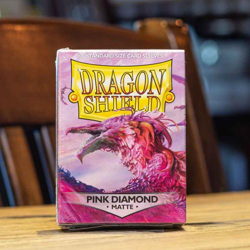 Dragon Shield Matte Pink Diamond