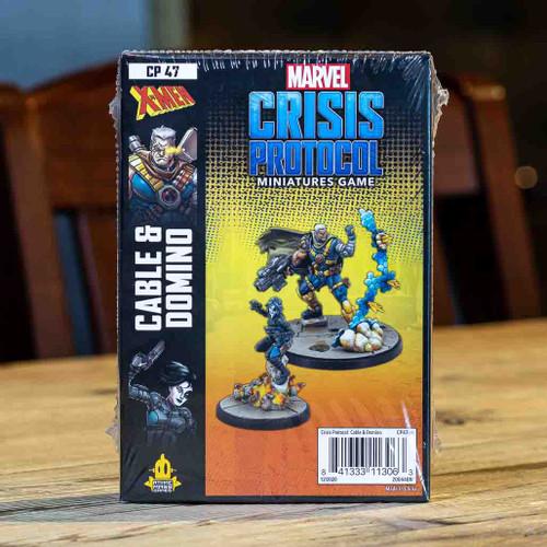 Marvel: Crisis Protocol - Cable & Domino