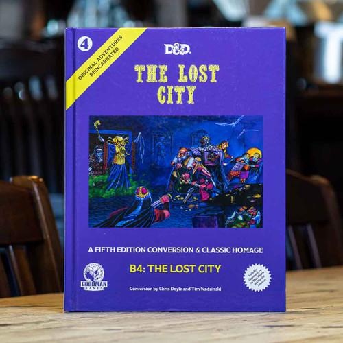 Original Adventures Reincarnated #4: The Lost City