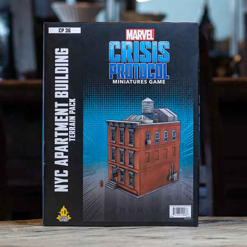 Marvel: Crisis Protocol - NYC Apartment Building Terrain Pack