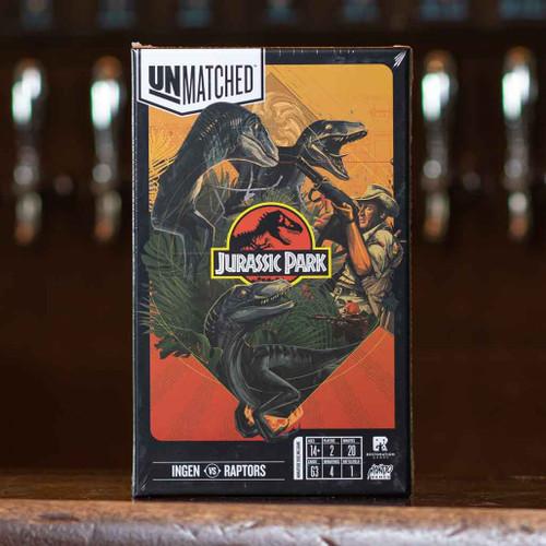 Unmatched - Jurassic Park: InGen vs. Raptors