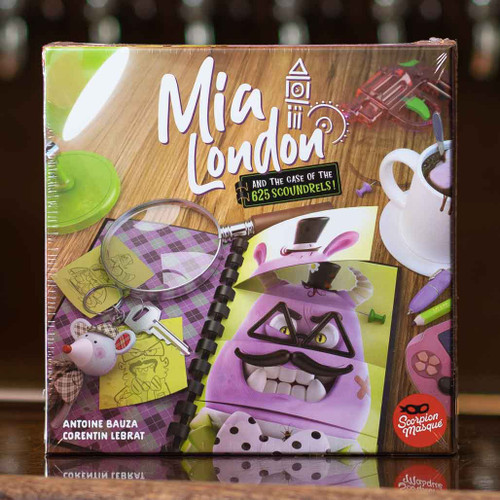 Mia London and the Case of the 625 Scoundrels!