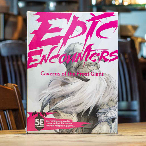 Epic Encounters: Caverns of the Frost Giant