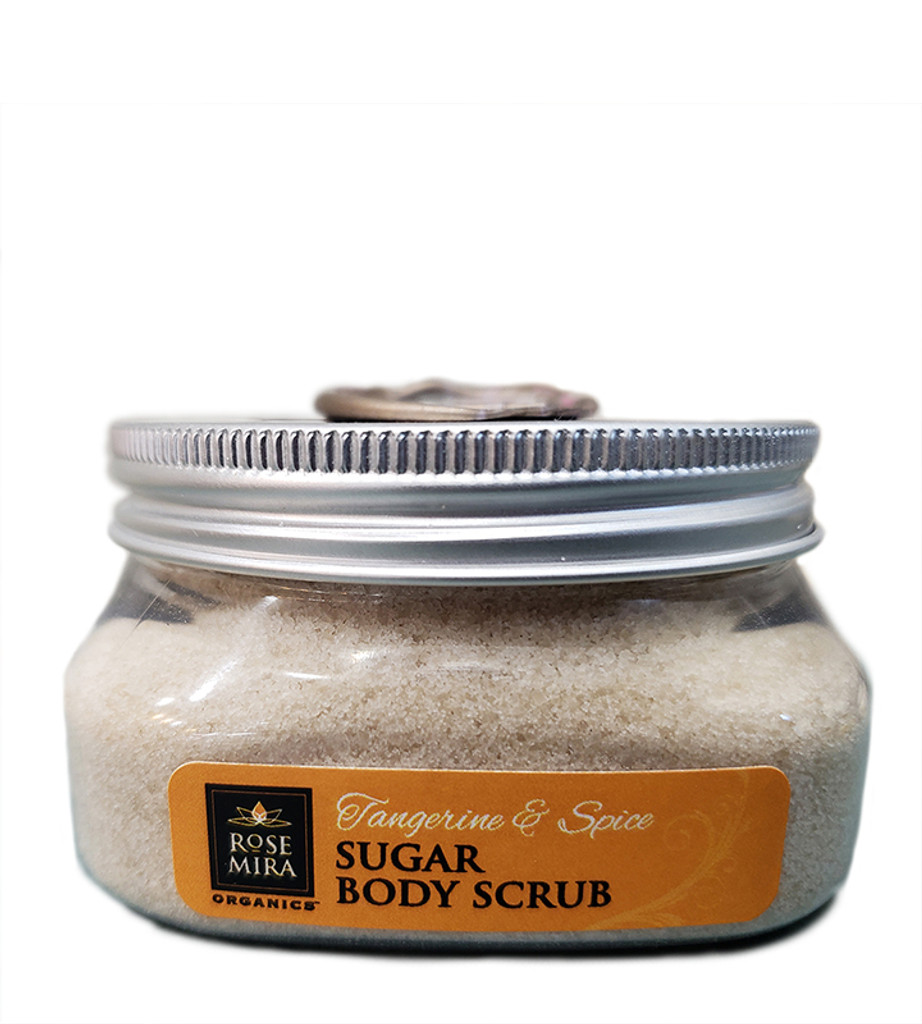 Tangerine & Spice  - Dry Body Sugar Scrub from Rosemira