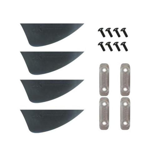 AK Fin Wake (SET - 4pcs incl. screws & washers) - FRN