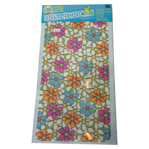 Versa Traction No Slip Mat 30x16 inch Home Flowers