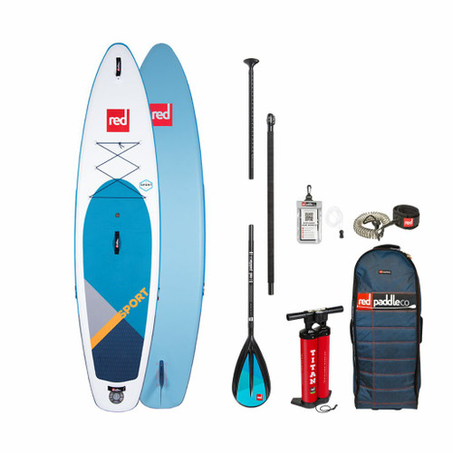 Red Paddle 2020 Sport 11 3 Blue Inflatable SUP