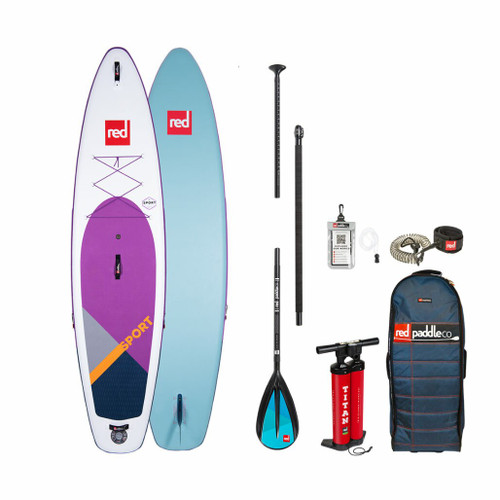 Red Paddle 2020 Sport 11 3 Purple Inflatable SUP