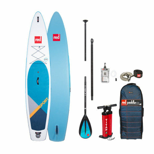 Red Paddle 2020 Sport 12 6 MSL Inflatable SUP