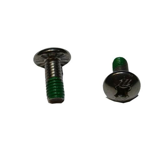 North Track Nut Screw 14mm Green Threadlock