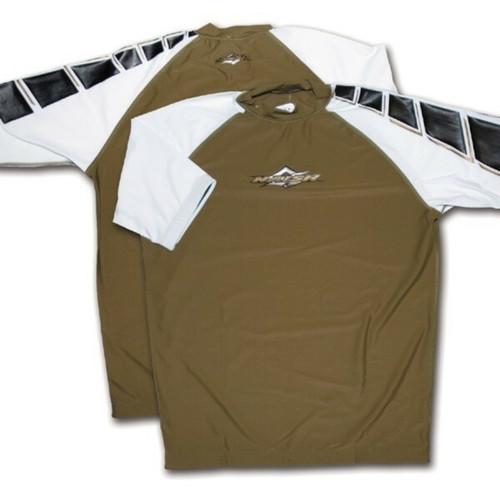 Naish Short Sleeve Khaki Rash Vest