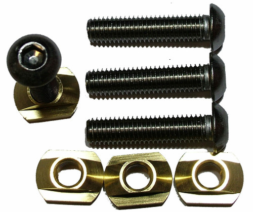 Hydrofoil Plate M8 Screw Mounts