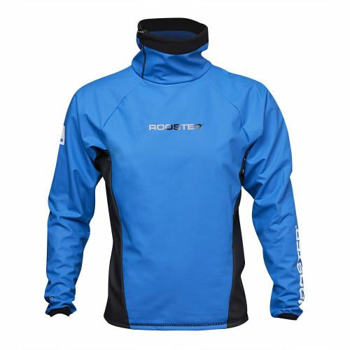 Rooster Classic Aquafleece Top Unisex Blue Front