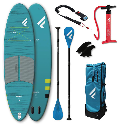 Fanatic 2021 Fly Air Pocket 10'4 Package