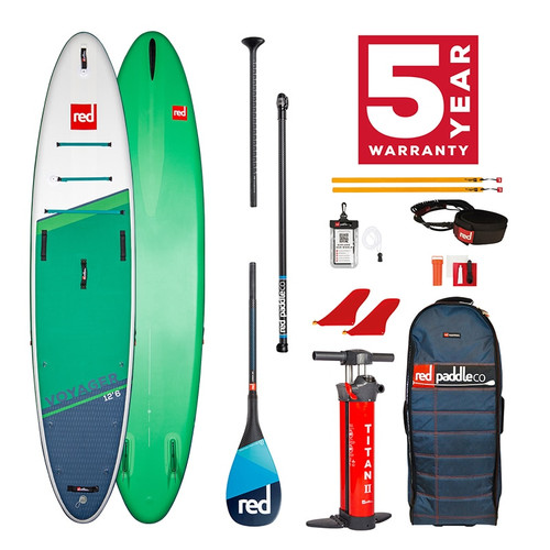 Red Paddle 2021 Voyager 12'6 Package