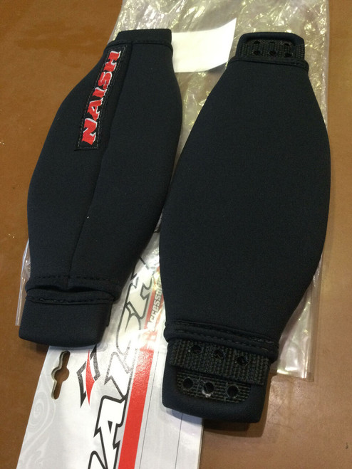 """Naish Footstraps 4"""" wide fixed pair"""