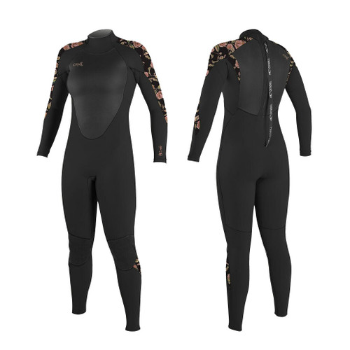 O'Neill 2020 Womens Epic 5 4 Back Zip Wetsuit