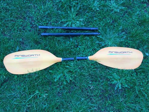 Used Ainsworth 4 piece Kayak Paddle