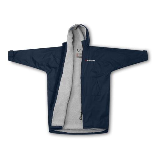 Northcore Beach Basha Sport Jacket Blue Open Jacket