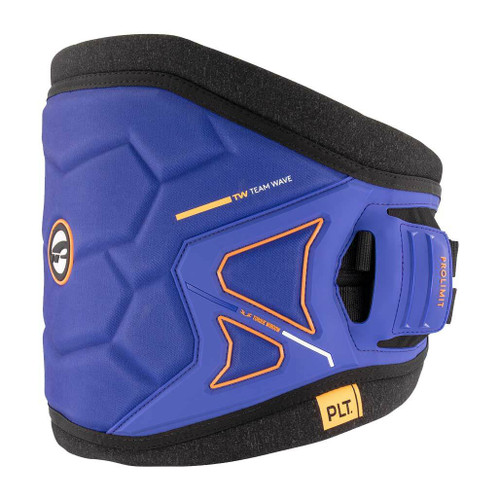 Prolimit Teamwave Windsurfing Waist Harness Blue Orange Right Side