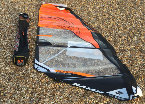 Naish 2021 S25 Force 5 Windsurf Sail Size 5.7m