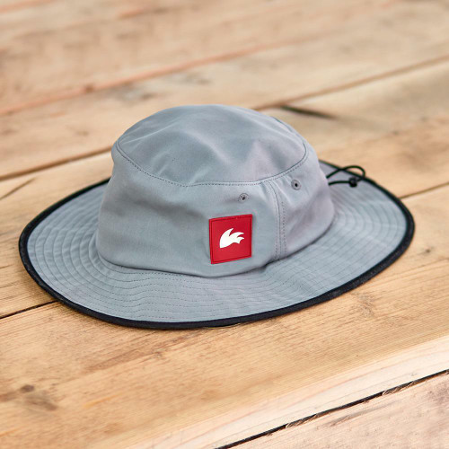 Rooster Wide Brimmed Hat Grey Small / Mardium  only