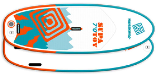 Nah-Skwell Supa Toy Air Fusion Sup Board