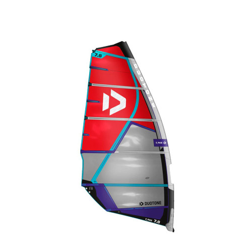 Duotone 2021 E-Pace 6.6 metre Windsurf Sail Red Blue