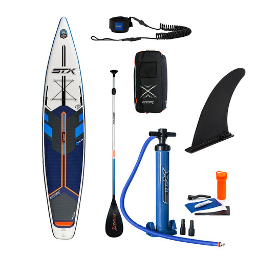 STX iSUP Tourer 12'6 Inflatable Stand Up Paddle Board Package
