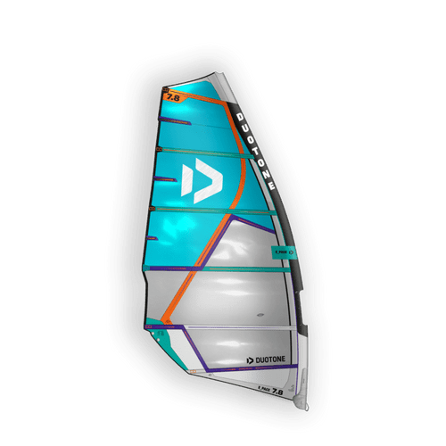 Duotone 2021 E-Pace HD 6.6 metre Windsurf Sail Blue -Off White