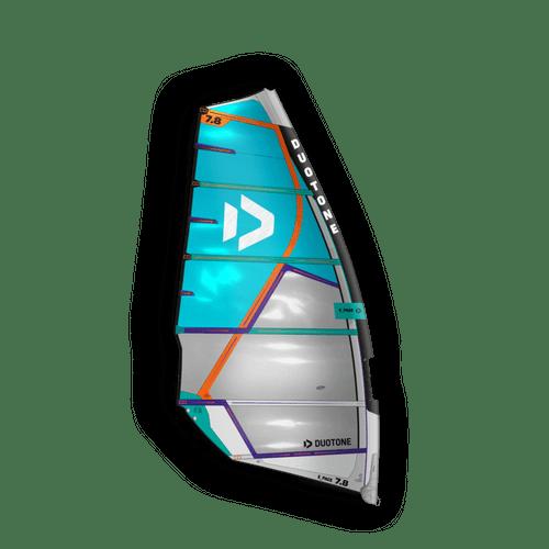 Duotone 2021 E-Pace HD 6.2 metre Windsurf Sail Blue -Off White