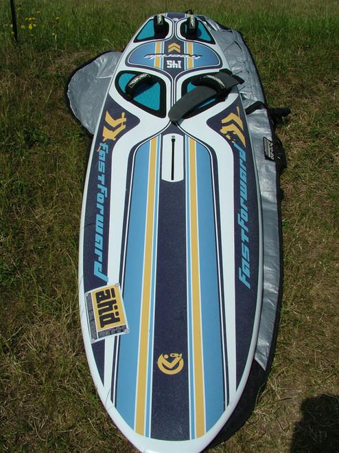 Used AHD Fast Forward 145 Windsurf Board Top