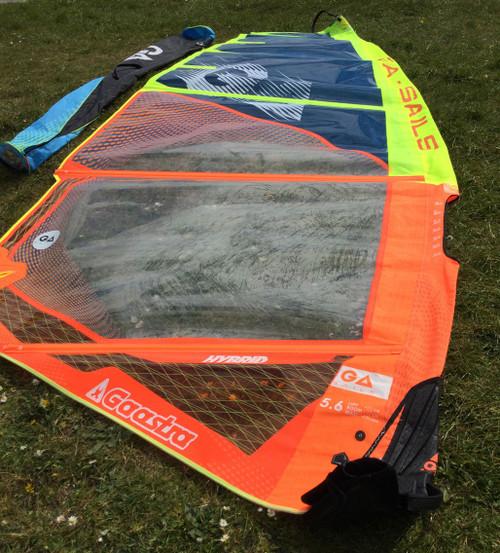Used Gaastra Hybrid 5.6m Windsurf Sail