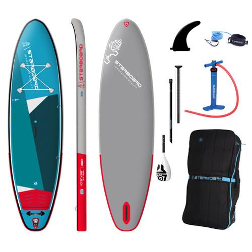 Starboard iGo Zen 10'8 x 33 Inch Inflatable SUP Package