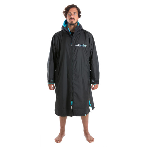 Dryrobe Advance Long Sleeve Black Blue