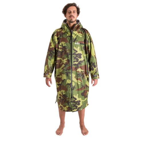 Dryrobe Advance Long Sleeve Camoflage Grey Large