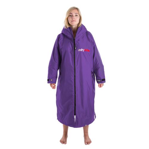 Dryrobe Advance Long Sleeve Purple Grey Medium