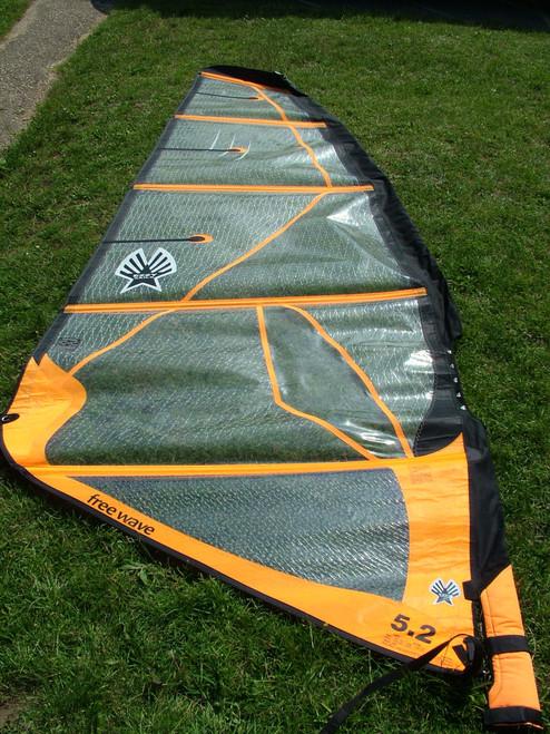 Used Ezzy Freewave 5.2m Windsurf Sail
