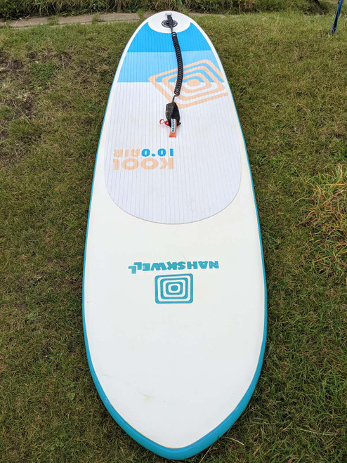 Ex Demo Nah Skwell Kool 10 Foot Inflatable PaddleBoard Package